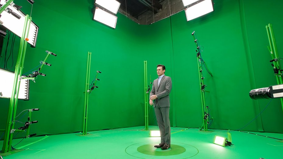 Mad Men hologram of John Hamm